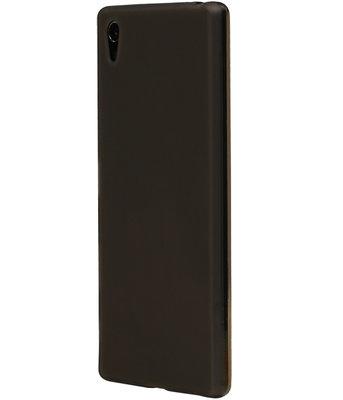 Huawei Y6 II Compact TPU Hoesje Transparant Grijs