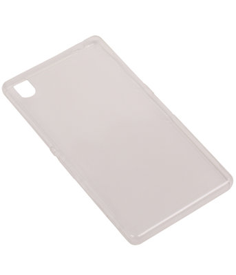 Huawei Y6 II Compact Cover Hoesje Transparant