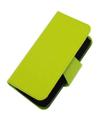 Groen Hoesje voor Samsung Galaxy S I9000 cover case booktype Ultra Book