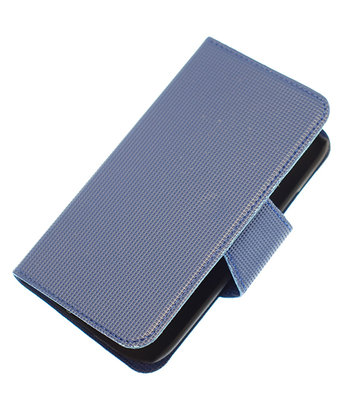 Donker Blauw Hoesje voor Samsung Galaxy S Advance I9070 cover case booktype Ultra Book