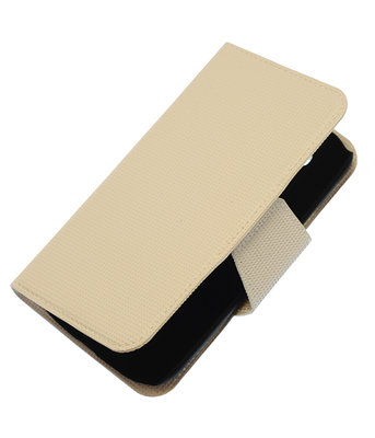 Wit Hoesje voor Samsung Galaxy S3 I9300 cover case booktype Ultra Book
