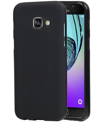Hoesje voor Samsung Galaxy A3 2017 TPU back case Zwart