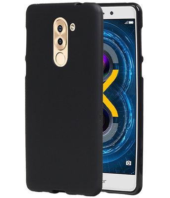 Hoesje voor Huawei Honor 6X 2016 TPU back case Zwart