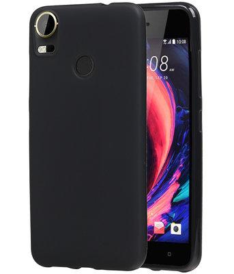 Hoesje voor HTC Desire 10 Pro TPU back case Zwart