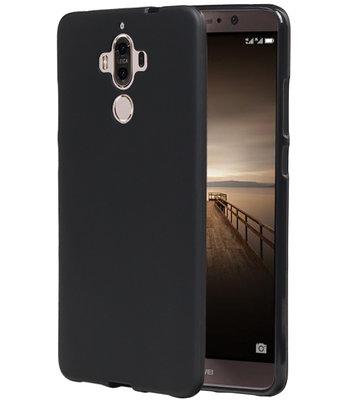 Hoesje voor Huawei Mate 9 TPU back case Zwart