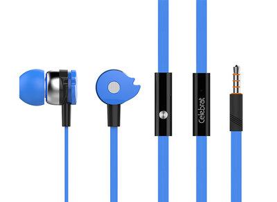 Magic Wheel Stereo Headset Oordopjes met microfoon - Blauwâ‹