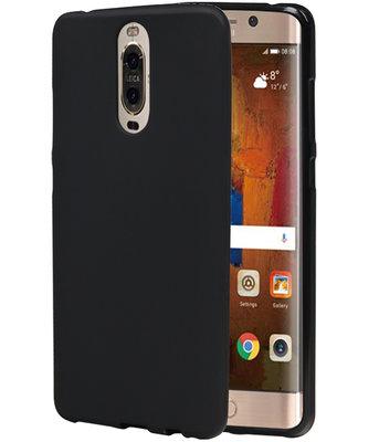 Hoesje voor Huawei Mate 9 Pro TPU back case Zwart