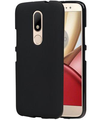 Hoesje voor Motorola Moto M TPU back case Zwart