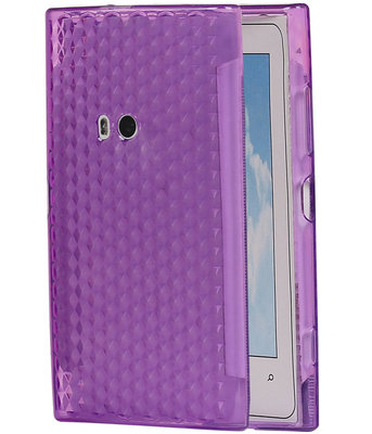 Hoesje voor Nokia Lumia 920 Diamant TPU back case Paars