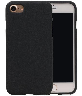 Zwart Zand TPU back case cover voor Hoesje voor Apple iPhone 7 / 8