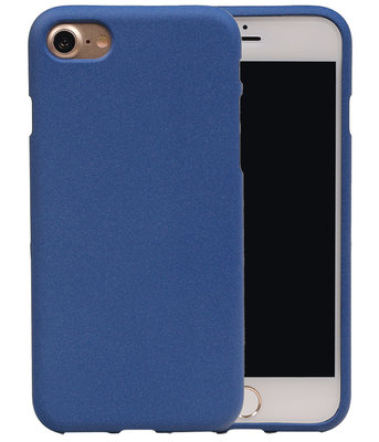 Blauw Zand TPU back case cover hoesje voor Apple iPhone 7 / 8