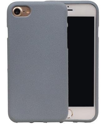 Grijs Zand TPU back case cover voor Hoesje voor Apple iPhone 7 / 8