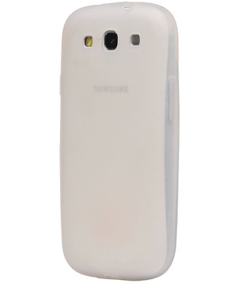 Hoesje voor Samsung Galaxy Grand Neo i9082 / i9060 TPU back case Wit