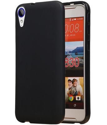 Hoesje voor HTC Desire 830 TPU back case Zwart