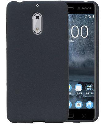 Grijs Zand TPU back case cover voor Hoesje voor Nokia 6