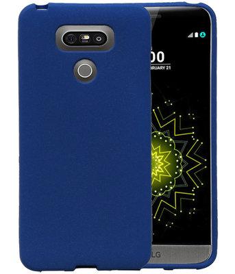 Blauw Zand TPU back case cover voor Hoesje voor LG G6
