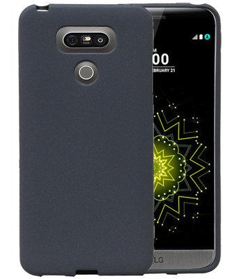 Grijs Zand TPU back case cover voor Hoesje voor LG G6