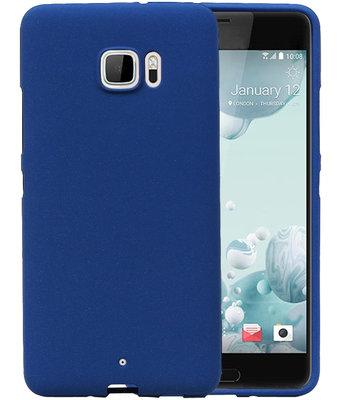 Blauw Zand TPU back case cover hoesje voor HTC U Ultra