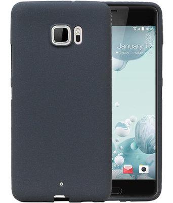 Grijs Zand TPU back case cover voor Hoesje voor HTC U Ultra