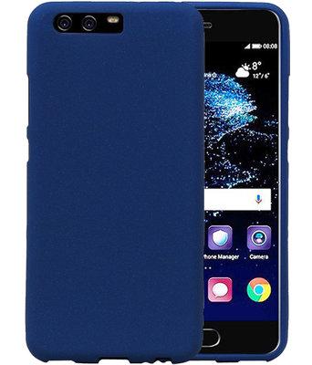 Blauw Zand TPU back case cover voor Hoesje voor Huawei P10