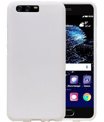 Wit Zand TPU back case cover voor Hoesje voor Huawei P10