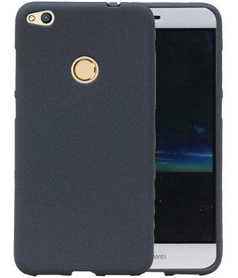 Grijs Zand TPU back case cover voor Hoesje voor Huawei P8 Lite 2017 / P9 Lite 2017