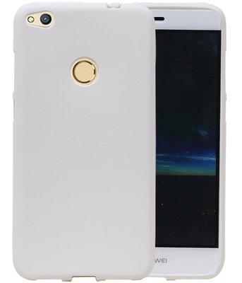 Wit Zand TPU back case cover voor Hoesje voor Huawei P8 Lite 2017 / P9 Lite 2017