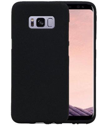 Zwart Zand TPU back case cover voor Hoesje voor Samsung Galaxy S8+ Plus