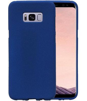 Blauw Zand TPU back case cover voor Hoesje voor Samsung Galaxy S8+ Plus