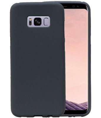 Grijs Zand TPU back case cover voor Hoesje voor Samsung Galaxy S8+ Plus