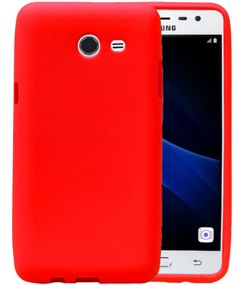 Rood Zand TPU back case cover hoesje voor Samsung Galaxy J5 2017