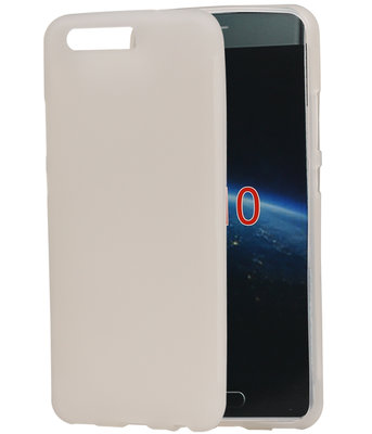 Hoesje voor Huawei P10 TPU back case transparant Wit