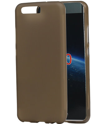 Hoesje voor Huawei P10 TPU back case transparant Grijs
