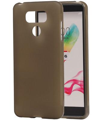 Hoesje voor LG G6 TPU back case transparant Grijs