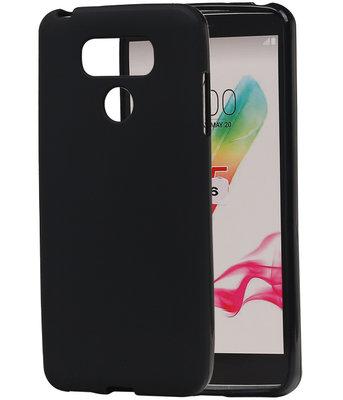 Hoesje voor LG G6 TPU back case Zwart
