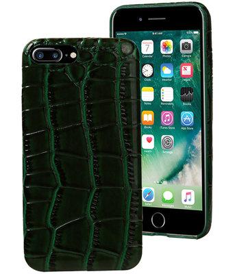 Groen Krokodil TPU hoesje Apple iPhone 7 Plus / 8 Plus