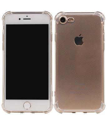 Transparant TPU Schokbestendig bumper case telefoon Hoesje voor Apple iPhone 7 / 8