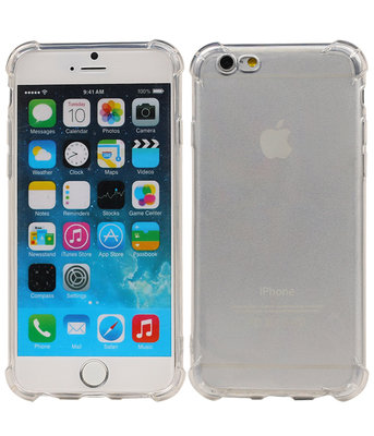 Transparant TPU Schokbestendig bumper case Hoesje voor Apple iPhone 6 / 6s