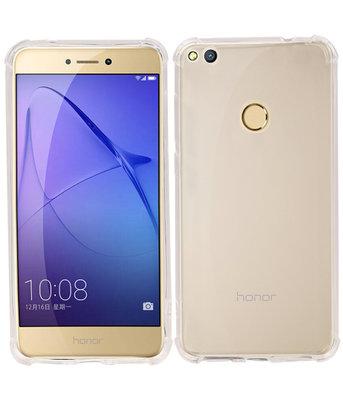 Transparant TPU Schokbestendig bumper case Hoesje voor Huawei P8 Lite 2017