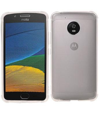Transparant TPU Schokbestendig bumper case Hoesje voor Motorola Moto G5