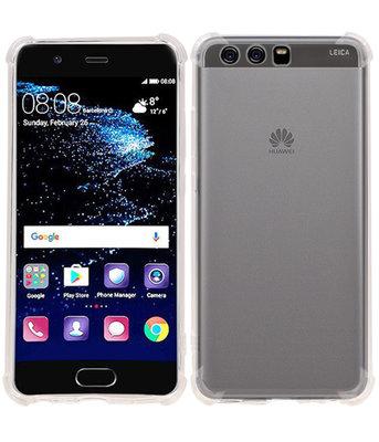 Transparant TPU Schokbestendig bumper case Hoesje voor Huawei P10