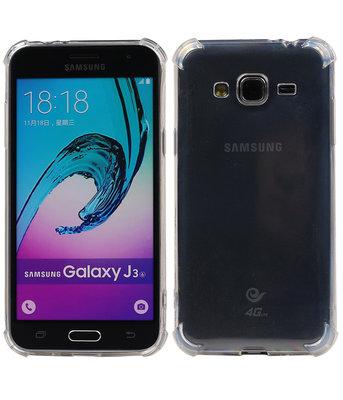 Transparant TPU Schokbestendig bumper case telefoon Hoesje voor Samsung Galaxy J3 2016