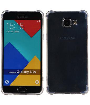 Transparant TPU Schokbestendig bumper case telefoon Hoesje voor Samsung Galaxy A3 2016