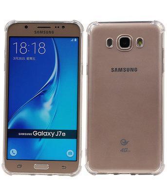 Transparant TPU Schokbestendig bumper case Hoesje voor Samsung Galaxy J7 2016