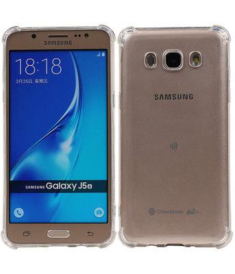 Transparant TPU Schokbestendig bumper case Samsung Galaxy J5 2016