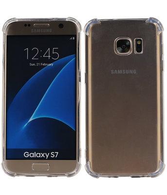 Transparant TPU Schokbestendig bumper case Samsung Galaxy S7