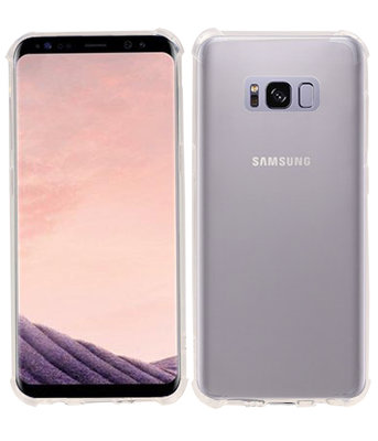 Transparant TPU Schokbestendig bumper case Hoesje voor Samsung Galaxy S8+ Plus