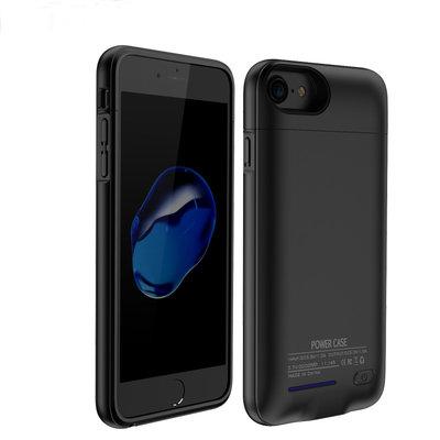Zwart smart batterij / battery case met stand functie voor Hoesje voor Apple iPhone 6 / 6s / 7 / 8