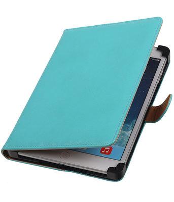 7 inch Tablet - PU Leder Turquoise