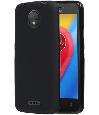 Hoesje voor Motorola Moto C TPU back case Zwart